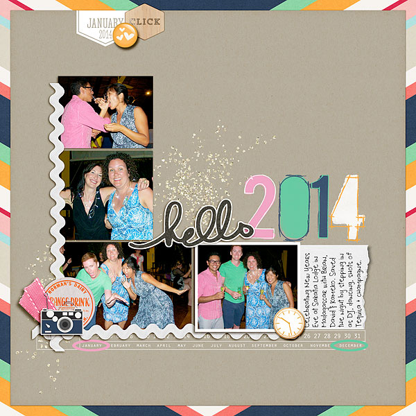 Scrapbook Page Starters: Arrange Photos and Elements with a Bracket Foundation |  Heather Awsumb | Get It Scrapped