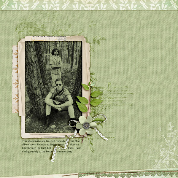 Scrapbooking Ideas Inspired by Celeste Smith's Layouts | Andrea | Get It Scrapped