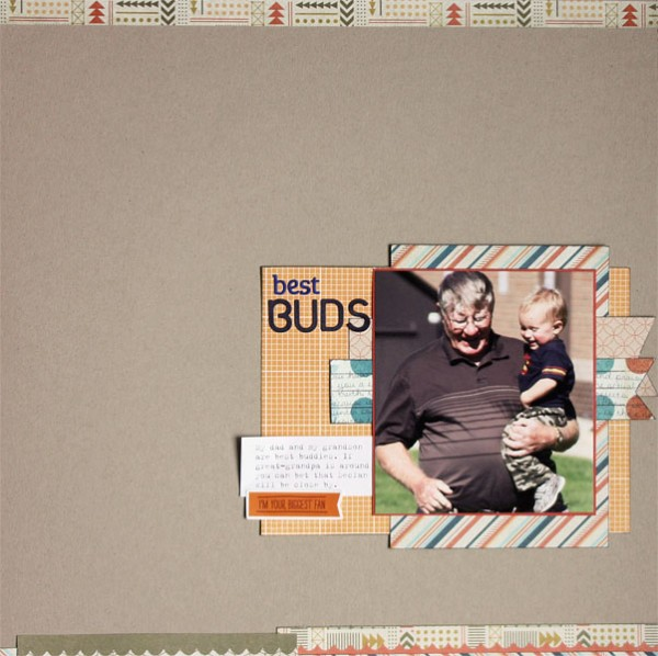 Scrapbooking Ideas Inspired by Celeste Smith's Layouts | Brenda Becknell | Get It Scrapped