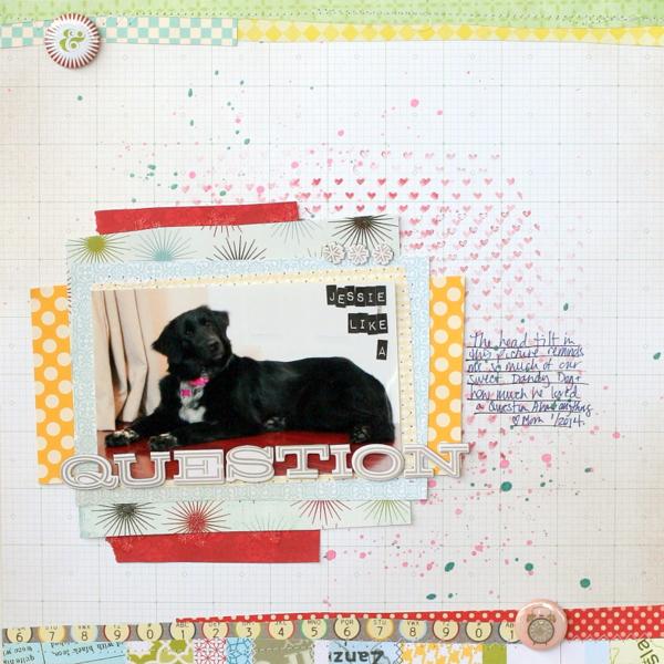 Scrapbooking Ideas Inspired by Celeste Smith's Layouts | Katie Scott | Get It Scrapped