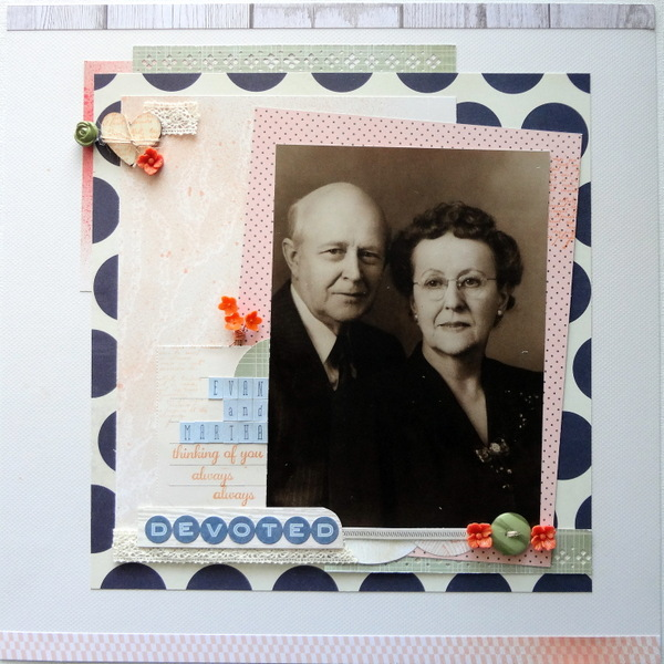 Scrapbooking Ideas Inspired by Celeste Smith's Layouts | Susanne Brauer | Get It Scrapped