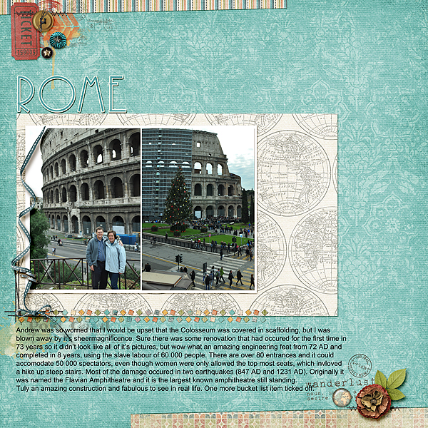 Scrapbooking Ideas Inspired by Celeste Smith's Layouts | Stefanie Semple | Get It Scrapped