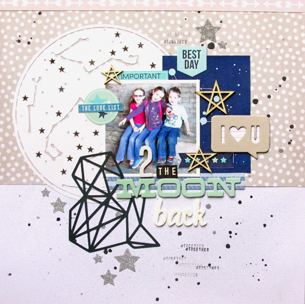 Scrapbooking Ideas for Storytelling and Design with the Constellation Motif | Ashley Horton | Get It Scrapped