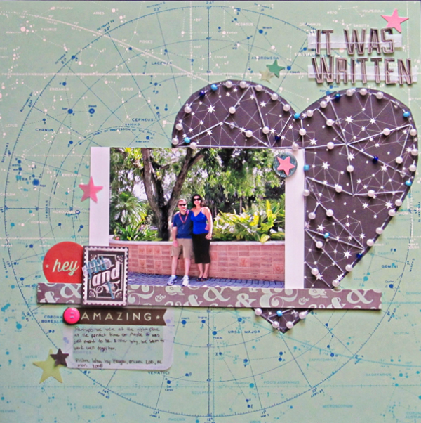 Scrapbooking Ideas for Storytelling and Design with the Constellation Motif | Christy Strickler | Get It Scrapped