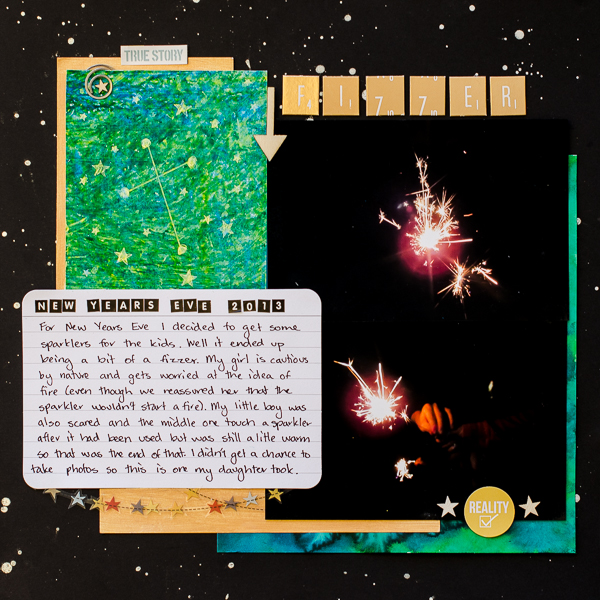 Scrapbooking Ideas for Storytelling and Design with the Constellation Motif | Kristy T | Get It Scrapped