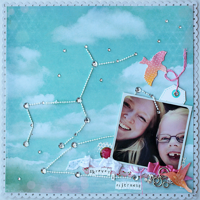 Scrapbooking Ideas for Storytelling and Design with the Constellation Motif | Lise Mariann Alsli | Get It Scrapped
