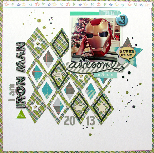 6 Creative Techniques for Scrapbooking with Plaid Patterned Paper | Ashley Horton | Get It Scrapped