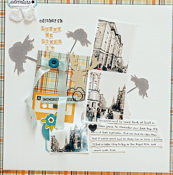 6 Creative Techniques for Scrapbooking with Plaid Patterned Paper |Sian Fair | Get It Scrapped