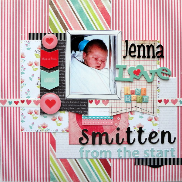So That's Hybrid? 8 Ideas for Using Digital Scrapbooking Products On Paper Pages | Susanne Brauer | Get It Scrapped