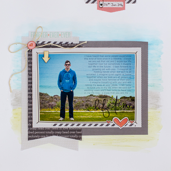 So That's Hybrid? 8 Ideas for Using Digital Scrapbooking Products On Paper Pages | Kristy T | Get It Scrapped