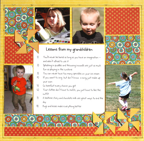 Scrapbooking Ideas for Storytelling with a List | Brenda Becknell | Get It Scrapped