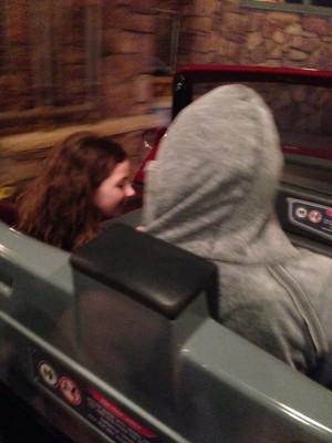 Lori on Car Ride