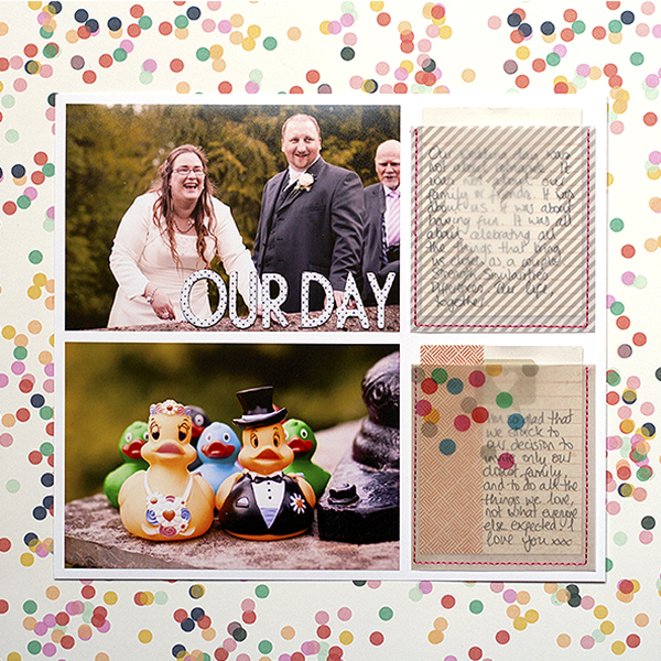 It's a Love Story | Scrapbook Ideas for Telling Your Love Story | Amanda Robinson | Get It Scrapped