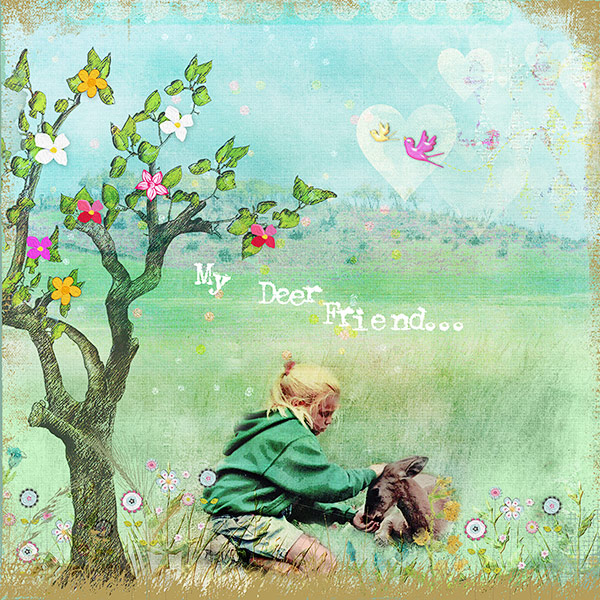 Scrapbook Page Layout Designs Inspired by Woodland Settings | Deborah Wagner | Get It Scrapped