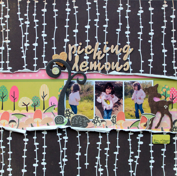 Scrapbook Page Layout Designs Inspired by Woodland Settings | Kiki Kougioumtzi | Get It Scrapped