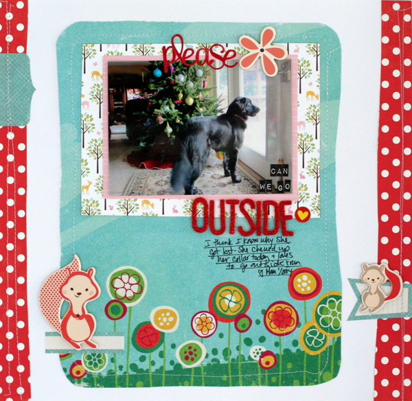 Scrapbook Page Layout Designs Inspired by Woodland Settings | Katie Scott | Get It Scrapped