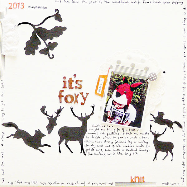 Scrapbook Page Layout Designs Inspired by Woodland Settings | Sian Fair | Get It Scrapped