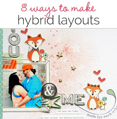8 Ideas for Using Digital Scrapbooking Products On Paper Pages | Get It Scrapped