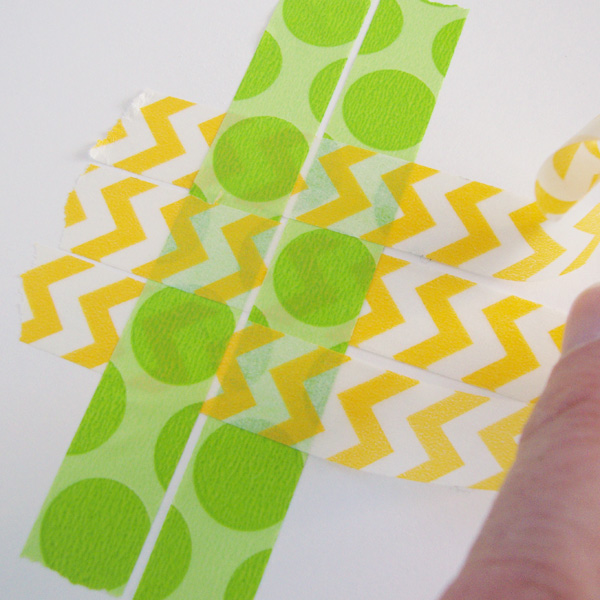 Ideas for Weaving with Washi Tape from Michelle Houghton | Get It Scrapped