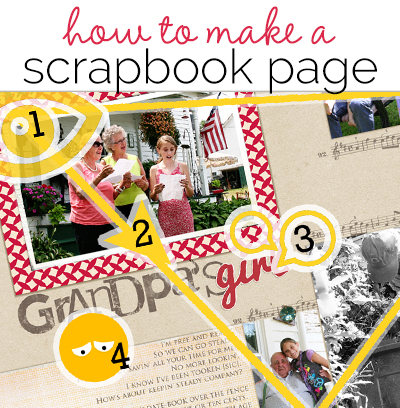 How to Make a Scrapbook Page | Get It Scrapped