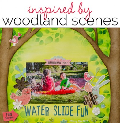 Scrapbook Page Layout Designs Inspired by Woodland Settings  | Get It Scrapped