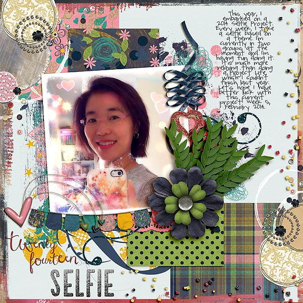 6 Scrapbook Page Stories to Tell with Glitter |  Audrey Tan | Get It Scrapped