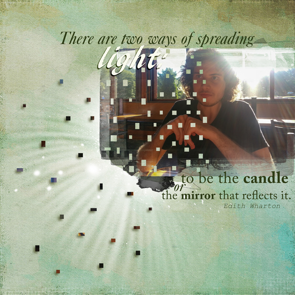 Scrapbooking Ideas for Using the Sight Lines in Your Photos | Andrea | Get It Scrapped