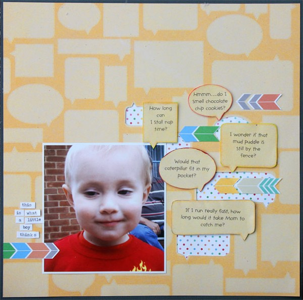Scrapbooking Ideas for Using the Sight Lines in Your Photos | Brenda Becknell | Get It Scrapped