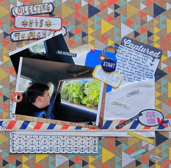 Scrapbooking Ideas for Using the Sight Lines in Your Photos | Christy Strickler | Get It Scrapped