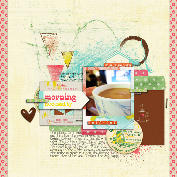 3 Angles for Scrapbooked Storytelling About Coffee and Tea in Your Life | Carrie Arick | Get It Scrapped