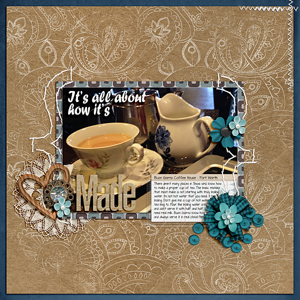3 Angles for Scrapbooked Storytelling About Coffee and Tea in Your Life | Ronnie Crowley | Get It Scrapped