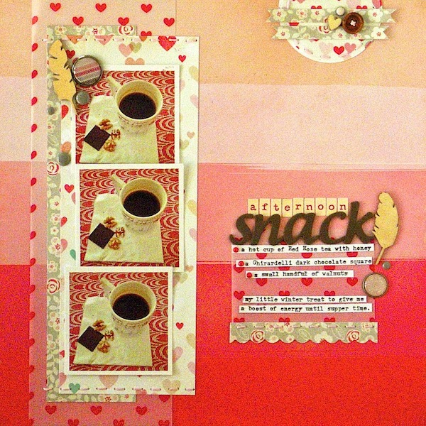 3 Angles for Scrapbooked Storytelling About Coffee and Tea in Your Life | Sue Althouse | Get It Scrapped