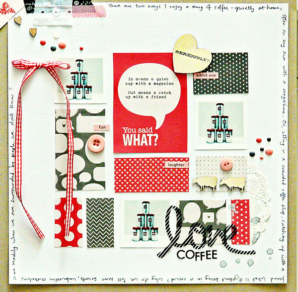3 Angles for Scrapbooked Storytelling About Coffee and Tea in Your Life | Sian Fair | Get It Scrapped