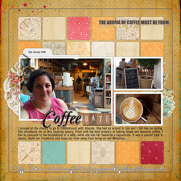 3 Angles for Scrapbooked Storytelling About Coffee and Tea in Your Life | Stefanie Semple | Get It Scrapped