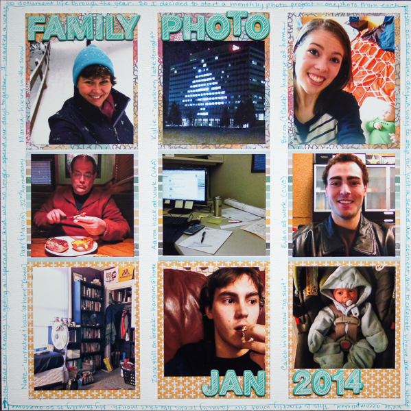 Scrapbook Page Starters: Arrange Photos and Elements in Three Columns | Marcia Fortunato | Get It Scrapped
