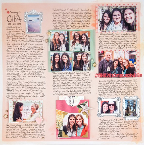 Scrapbook Page Starters: Arrange Photos and Elements in Three Columns | Marie-Pierre Capistran | Get It Scrapped