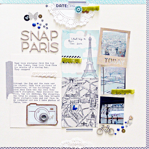 Scrapbook Page Starters: Arrange Photos and Elements in Three Columns | Sian Fair | Get It Scrapped