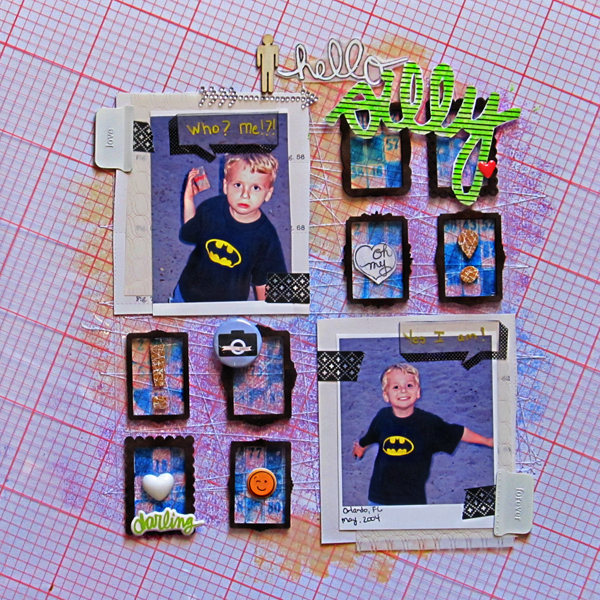 Scrapbooking Ideas for Using and Making Printed Transparencies | Christy Strickler | Get It Scrapped