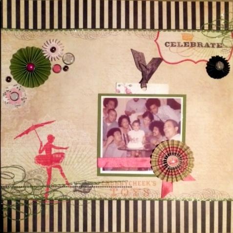 Celebrate by Rosann Santos | Get It Scrapped