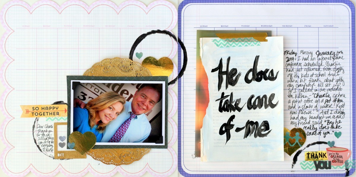 It's a Love Story | Scrapbook Ideas for Telling Your Love Story | Katie Scott | Get It Scrapped