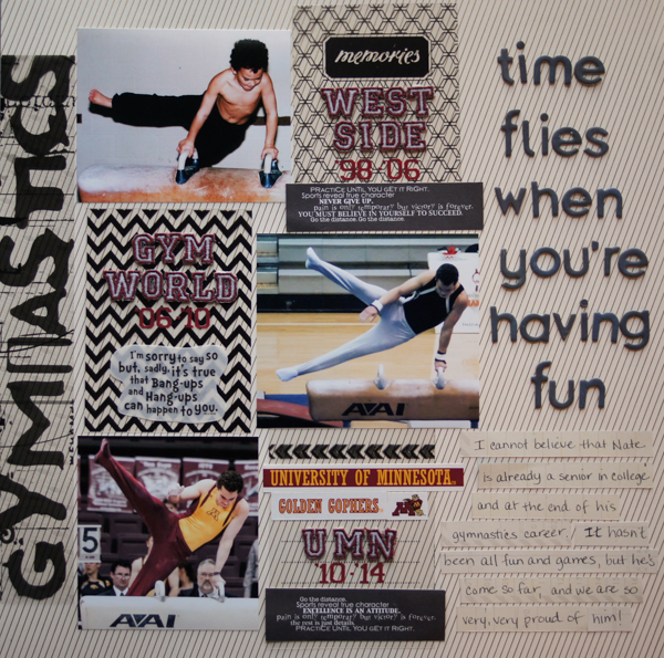 Scrapbooking Ideas Inspired by Doris Sander's Layouts | Marcia Fortunato | Get It Scrapped