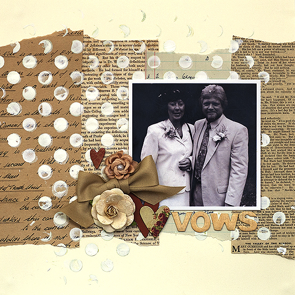 Scrapbooking Ideas for Using Text as a Part of Your Layout Design | Amanda Robinson | Get It Scrapped