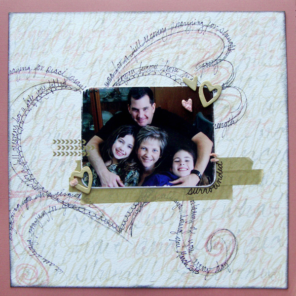 Scrapbooking Ideas for Using Text as a Part of Your Layout Design | Michelle Houghton | Get It Scrapped