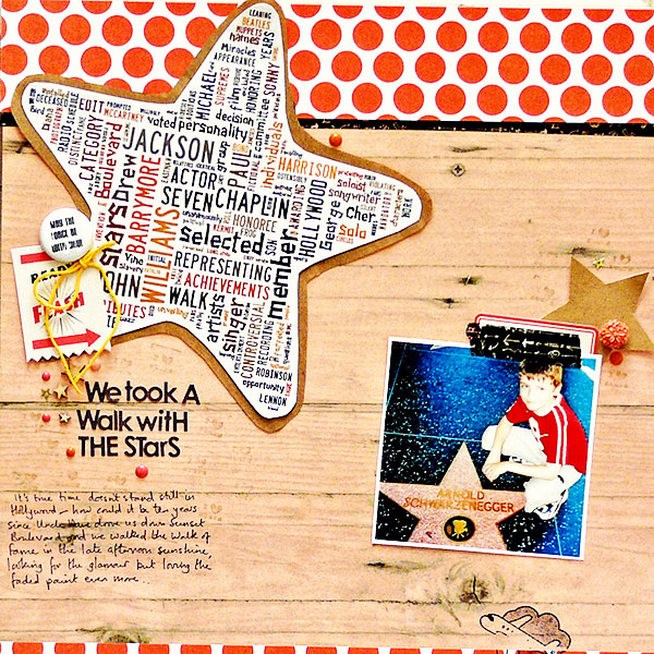 Scrapbooking Ideas for Using Text as a Part of Your Layout Design | Sian Fair | Get It Scrapped
