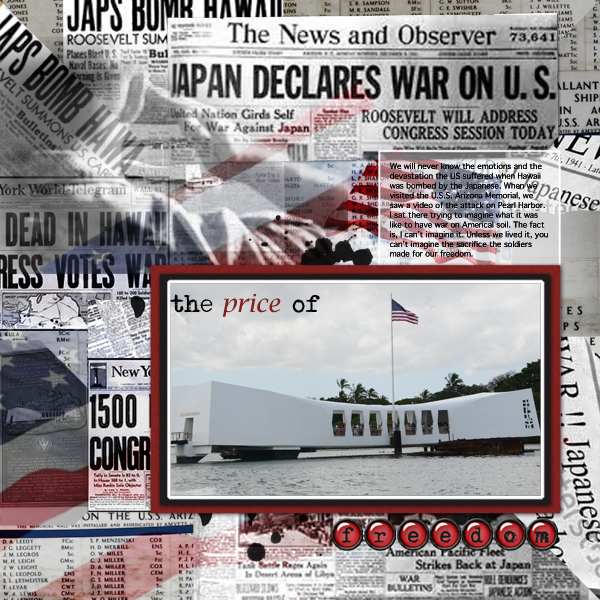 Scrapbooking Ideas for Using Text as a Part of Your Layout Design | Terry Billman | Get It Scrapped