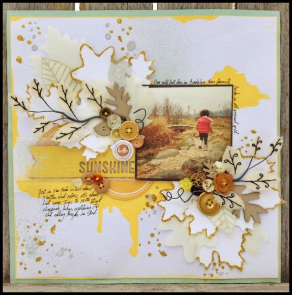 6 Scrapbook Page Stories to Tell with Glitter |  Michelle Hernandez | Get It Scrapped