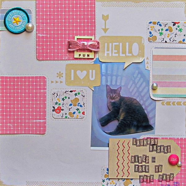 Scrapbooking Ideas for Layered Photo Treatments | Christy Strickler | Get It Scrapped