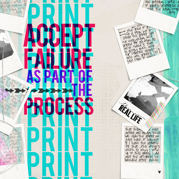 Creative Scrapbooking Ideas for Overprint Techniques on the Page | Carrie Arick | Get It Scrapped