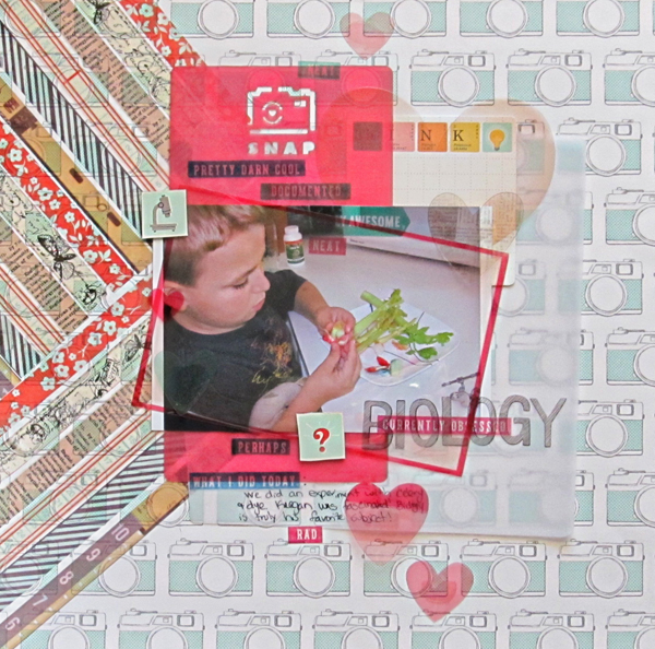 Creative Scrapbooking Ideas for Overprint Techniques on the Page | Christy Strickler | Get It Scrapped