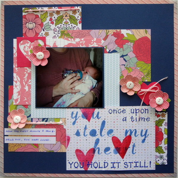 Creative Scrapbooking Ideas for Overprint Techniques on the Page | Susanne Brauer | Get It Scrapped